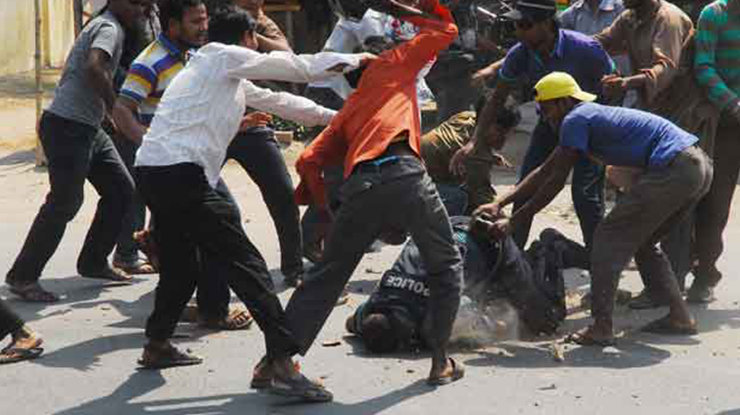 Assault on a public servant